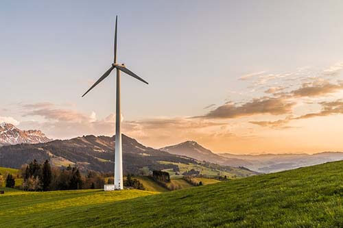 Eltjänst Åmål vindkraftverk